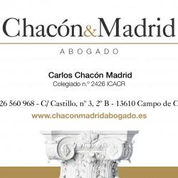 Carlos Chacón Madrid abogado