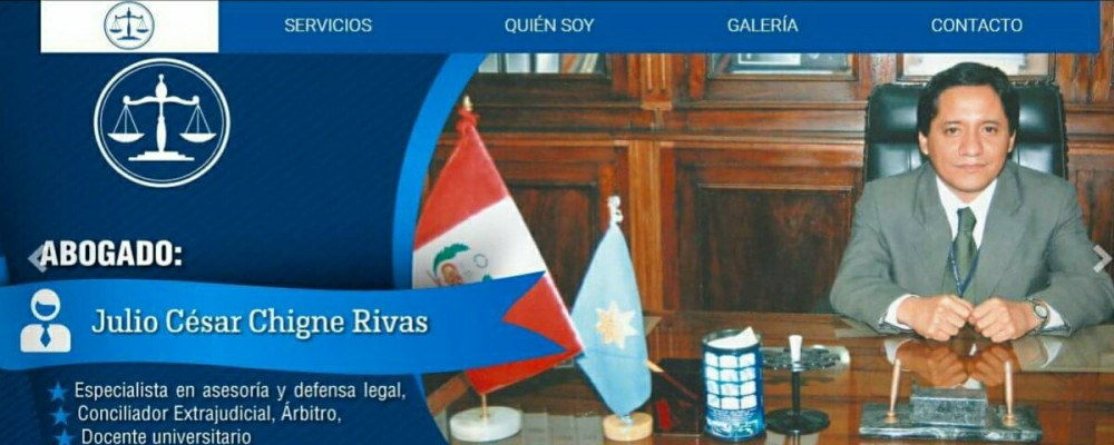 presentacion Julio César Chigne Rivas