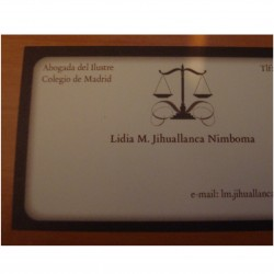 Lidia Marleny Jihuallanca Nimboma abogado