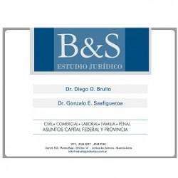 Estudio Juridico Brullo & Saafigueroa despacho abogados