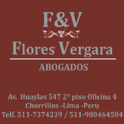 ASESORIA Y CONSULTORIA LEGAL F& V despacho abogados