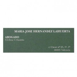 Maria Jose Hernandez Lahuerta abogado